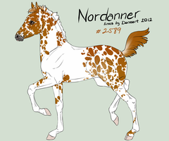 Nordanner Foal Design #2589 by DovieCaba