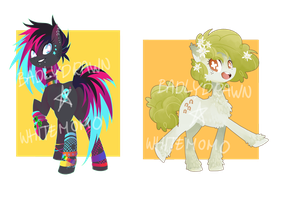 [Auction] PONY adoptables (CLOSED) by starrypon