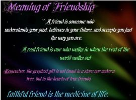 Friendship means by nickyjay11