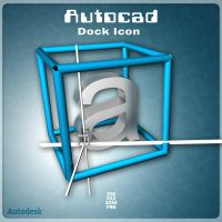 AutoCAD Dock Icon by AlperEsin