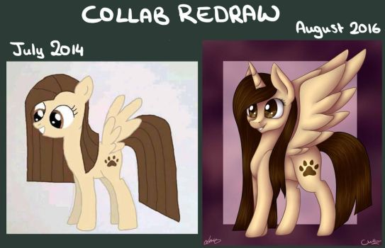 Collab Redraw by MilenaMelody