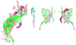 Winx 5: Roxy - the 7th Fairy in the club! by Gerganafen