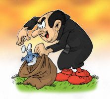 Gargamel by AliceSacco