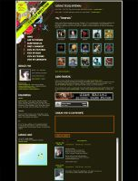 MySpace layout updated again by Maquita