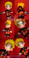 Naruto plush version by Momoiro-Botan