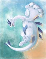 .:The Legendary:. Lugia by iamHikari-kun
