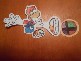 Characters I want in SSB4: Number 22: Rayman by solidsnivy97