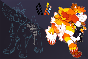 {Re-Auction} Candy Corn Bab (closed) by PhloxeButt