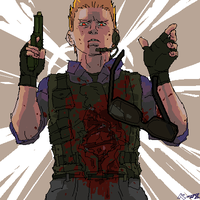 Albert Wesker is dangerous by art-kit