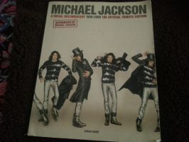 My new mj book from the library by Becky123190