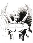 Archangel sketch - Free Comic Book Day by aethibert