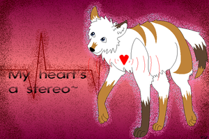 :Stereo Heart: by Wounded-Warsong