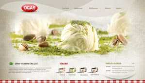 Ogas Turkish Delight Website by grafiket