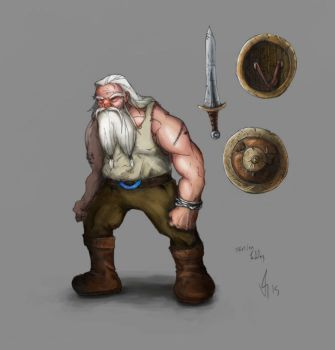 Old Viking - color test by vitorxvr