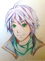 Hope Estheim Drawing by the-merriest