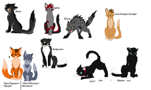Warrior Cats by blueskyBrittany
