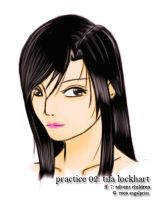 practice 02: tifa lockhart by angelprisz