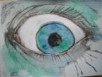 watercolour eye by AsatorArise