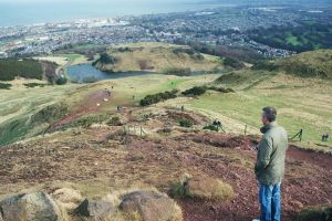 Nice view from Arthur's seat by MollyMotions