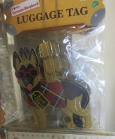 German Shepherd Luggage Tag by Codetski101