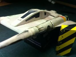 Buck Rogers Thunderfighter by scyeige