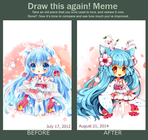 Draw this again 2012~2014 by Maruuki