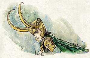 Loki by melmoth2014