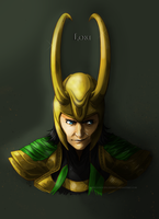 Loki by InnocenceShiro