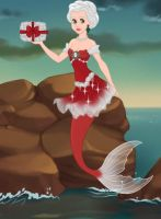 Mermaid Mrs. Clause by LadyIlona1984