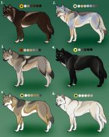Detailed Natural Wolf Adopts: CLOSED by Nature-Ridge-Adopts