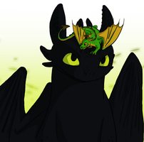 Meet Toothless by tiger-Sanga