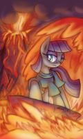 Maud lava surfing by Cazra