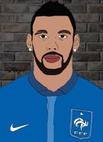 Yann M'Vila Cartoon by bluezest1997