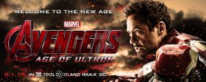 The Avengers: Age of Ultron - Iron Man Banner by spacer114