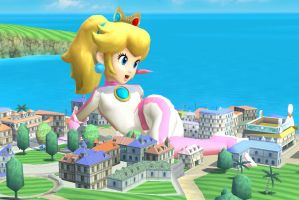 Super Huge SSB4 Peach snapshot 5 by ZatchHunter