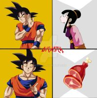 Meme de goku. Dicasty Creations. by dicasty1
