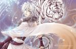 :White Tiger: by Cindiq