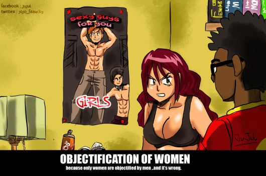 Objectification of women by anouchis