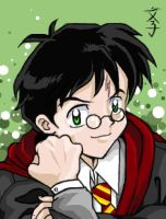 Miroku as Harry by Fumik0