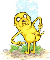 Jake the Dog by Burke73