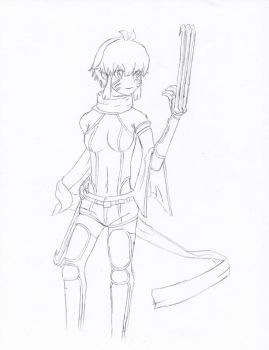 Adult Argo Ver 1 Uncolored by Yang-Kudo
