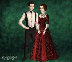 Mr. and Mrs. Cratchit by LadyIlona1984