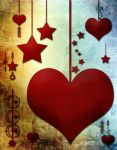 Hearts Stars by stock-pics-textures