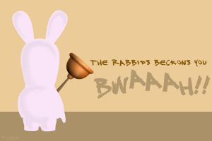 Rabbids - A Spoof Of my Vader by sohansurag