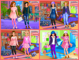 Girly and tomboy dress up game by DressUpGamescom