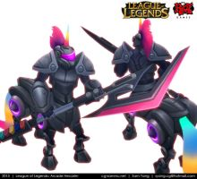 League of Legends: Arcade Hecarim 2013 by cg-sammu