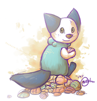professional shell collector by Version-L