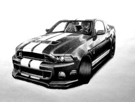 All American pony car by Statham75