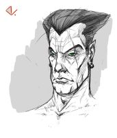 Namor the submariner by Dutch-DeVries
