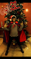 HAIL SANTA by bipolar-cosplay